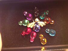 Joan Rivers Interchangeable Beautiful Bumble Bee Bug Pin Brooch 11 Pieces W/ Box