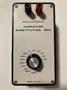 Heathkit Capacitor Substitution Box IN-3147