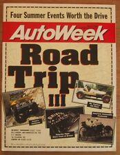 AUTOWEEK 1996 MAY 27 - ROAD TRIPS, NEW 911 CARRERA 4S