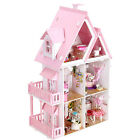 Wooden Handmade Dolls house DIY Miniature Kit - Dollhouse & Furniture/English