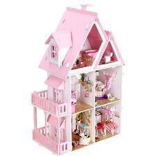 Wooden Handmade Dolls house DIY Miniature Kit - Dollhouse & Furniture/English