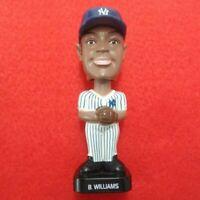 BERNIE WILLIAMS BOBBLEHEAD #51 NEW YORK YANKEES FOTOBALL 2002 MLB BASEBALL RARE