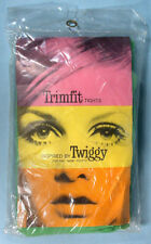 1967 Twiggy Trimfit Tights Unused in Original Package Mod British Teen Model