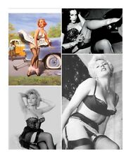 *NEW* VOL 2 FULL COLLECTION OF CORSETS STOCKINGS  VINTAGE RETRO GLAMOUR PICTURES