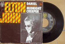 ELTON JOHN Daniel / Midnight Creeper DJM17612 pressage français TBE