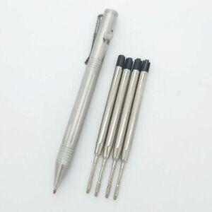 5pcs Refills Self Defense Pocket Tactical Broken Window Ballpoint Signature Pen