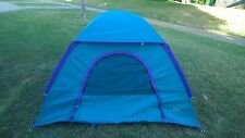"""GREAT BASIN BY QUEST TWO PERSON DOME TENT 6' 6"""" X 5' 6"""" CAMPING HIKING BACKPACK"""
