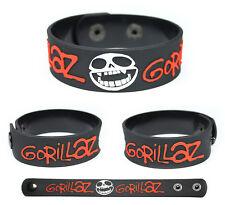 GORILLAZ Rubber Bracelet Wristband The Fall Plastic Beach Demon Days