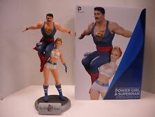 DC COMICS BOMBSHELLS POWER GIRL SUPERMAN STATUE NUMBERED LIMITED EDITION