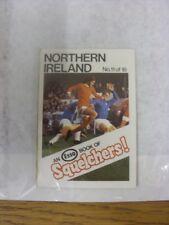 1970/1971 Esso: Squelchers - 11 Northern Ireland, An Esso Mini-Book 16 Issued In