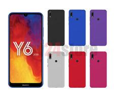 Funda gel lisa Huawei Y6 2019 / HONOR 8A protector pantalla