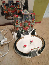 Retired - Dept. 56 North Pole Christmas Village - Glacier Park Pavilion