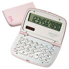 Victor 909-9 Limited Edition Pink Compact Calculator 10-Digit LCD 9099