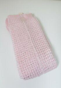 New Size M/L Victoria's Secret Pink Boot Sock Sequins MSRP $19.50