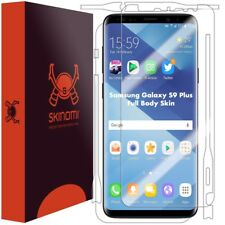 Skinomi FULL BODY Clear Skin+Screen Protector For Samsung Galaxy S9 Plus
