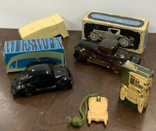 Vintage Lot Of 4 Classic Cars Avon Collection, Volkswagen, Sterling, Model T
