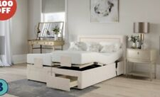 BENSONS FOR BEDS Pocket Memory Motion Adjustable Divan Bed Set Kingsize Medium