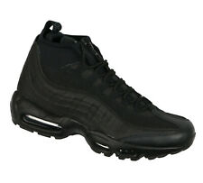 NIKE Air Max 95 Sneakerboot Shoes sz 8 Triple Black All Weather Rugged