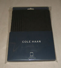 New Cole Haan Leather Folio Case for Apple iPad Air 2 - Dark Roast