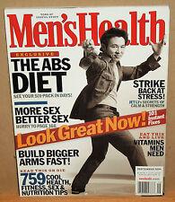 Men's Health Magazine September 2004 Jet Li Issue