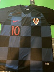 Modric Croatia Away #10 Jersey size large