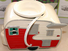 """RARE SCENTSY """"ROAD LESS TRAVELED"""" TRAVEL TRAILER WARMER.  BRAND NEW IN BOX"""