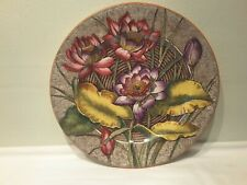 "A Wedgwood Water Lily  Plate 10 1/4""   ca1903"