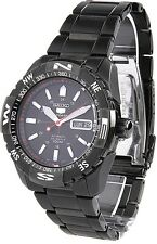 SEIKO 5 Sports SNZJ11 SNZJ11K1 Mens Automatic Black Dial Black Metal 100m Watch