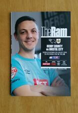 2015/16  DERBY COUNTY v BRISTOL CITY - NEW & UNOPENED