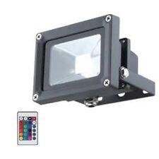 LED Lampe RGB außenwandstrahler avec télécommande Projecteur d'extérieur