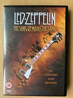Led Zeppelin - The Song Remains The Same DVD 1973 Live Rock Concert