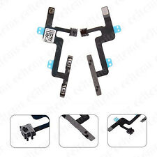 Power Volume Control and Mute Button Mic Flex Cable Parts For iPhone 6 6G 4.7""