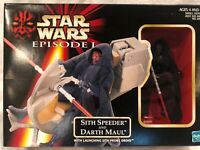 Star Wars Episode I: Sith Speeder and Darth Maul Action Figure MISP