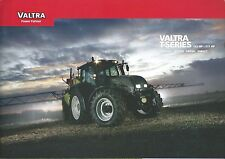 Farm Tractor Brochure - Valtra - T132 T152 T162e et al T series - c2011 (F5498)