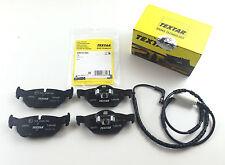 TEXTAR Pastiglie + verschleisskontakt POSTERIORE BMW 1er e81 e82 e87 e88 3er e90
