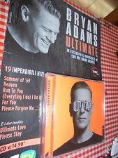 CD BRYAN ADAMS ULTIMATE BEST OF CON DUE BRANI INEDITI ULTIMATE LOVE PLEASE STAY