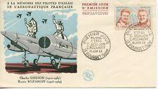 FIRST DAY COVER / PREMIER JOUR FRANCE / PILOTTE GOUJON ROZAHOFF 1959 LE BOURGET