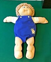 Cabbage Patch Kids Baby Boy Doll CPK Pamper/Clothing, Dimples, Tooth, Yarn Hair