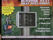 Us Stove Mh6 Miracle Heat 6-Inch Heat Reclaimer