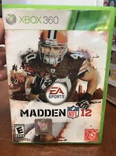 Madden NFL 12 Used Xbox 360