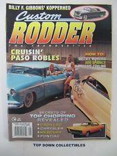 Custom Rodder Magazine  Sept. 1996    Buddy Enea's 1965 Buick Riviera