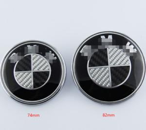 BMW 82mm-74mm BONNET/HOOD Replacement Emblem Badge E46 36 90 60 83 92 M3 M5