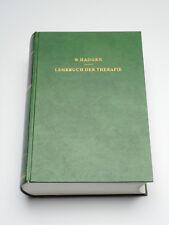 W. Hadorn – Lehrbuch der Therapie – 1963, 1165 Seiten