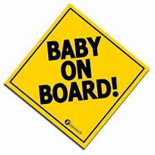 "Zone Tech 7"" Baby On Board Vehicle Car Safety Bumper Decal Warning Sticker Sign"