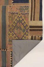 nomades patchwork délavé look antique PERSAN TAPIS tapis d'Orient 1,98 x 1,25