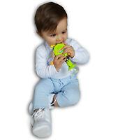 Trommelrassel Spielzeug Motorik Rassel Kinder Lernspielzeug mit Musik und Licht