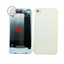 REPLACEMENT Back Battery Door Cover Glass uk seller For Apple  iPhone 4 4G White