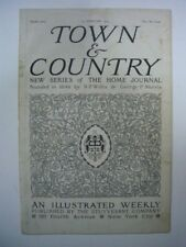 TOWN & COUNTRY AN ILLUSTRATED WEEKLY N° 3067 25 FEBRUARY 1905 GOOD CONDITION