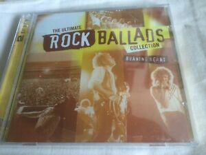 ULTIMATE ROCK BALLADS COLLECTION -BURNING HEART - TIME LIFE 2 x CDS-SEALED-TOTO