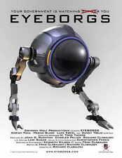 EYEBORGS Movie POSTER 27x40 Adrian Paul Megan Blake Luke Eberl Emad Aly Tim Bell